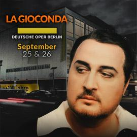 Barnaba in La Gioconda at Deutsche Oper Berlin