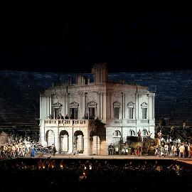 Telecast of Nabucco from Verona on ARTE