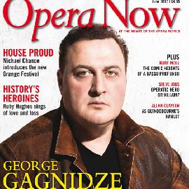 Cover interview with Opera Now